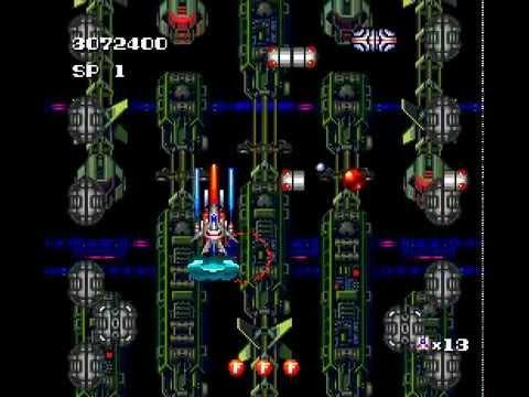 PC Engine Longplay [138] Terra Cresta II - Mandler no Gyakushuu