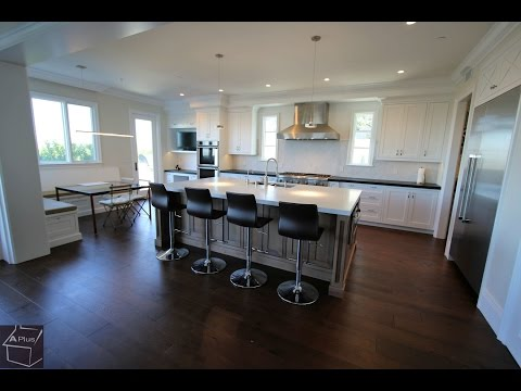 Tour of a Design Build Custom Kitchen Home Remodel in Newport Beach by APlus Kitchen
