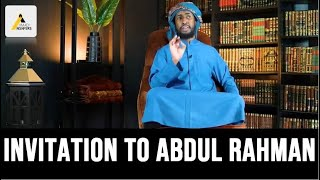 Invitation to Abdul Rahman Hassan : The Revival of Islam