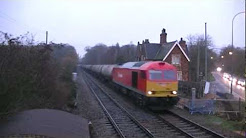 Class 60's at Holton-Le-Moor - 16th & 17th December 2011