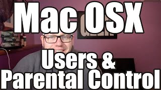 Mac OSX Users and Parental Control(Let's dive into Mac OSX User account creation and Parental Control. We'll show you how to add and remove accounts as well as giving accounts admin ..., 2015-10-04T00:57:10.000Z)