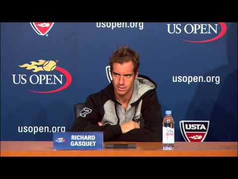 US Open 2013: Richard Gasquet Press Conference