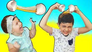 Super Egg Celina Vs Hasouna for kids toys - سوبر سيلينا مقالب بيض للاطفال