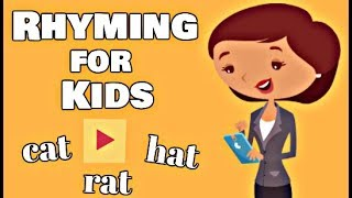 Rhyming for Kids | Kindergarten and First Grade Learning Video