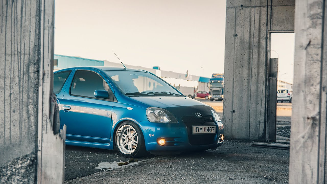 Toyota Yaris Stanced Youtube