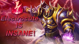 WHAT IS THAT DAMAGE!?!?!?! - Electrocute Mordekaiser