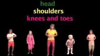 English, Nursery Rhymes, Head Shoulders Knees And Toes, Kids Songs, ABC, YouTube