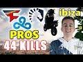PUBG - ibiza, Faze_Fuzzface, Jeemzz & Stab - 44 KILLS - PUBG PROS