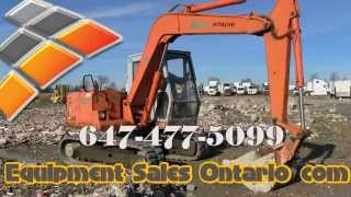 EX60, used Hitachi EX 60 Mini Excavator for sale Ontario.