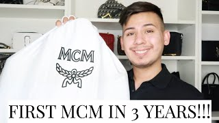 FIRST MCM HANDBAG IN OVER 3 YEARS & WHY I DIDN'T PURCHASE MCM