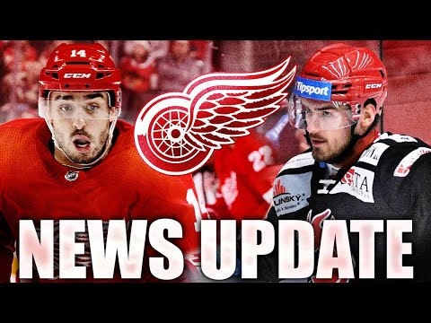 HUGE Red Wings News Update: Robby Fabbri Signs + Filip Zadina CRAZY Game In Czech Republic (Detroit)