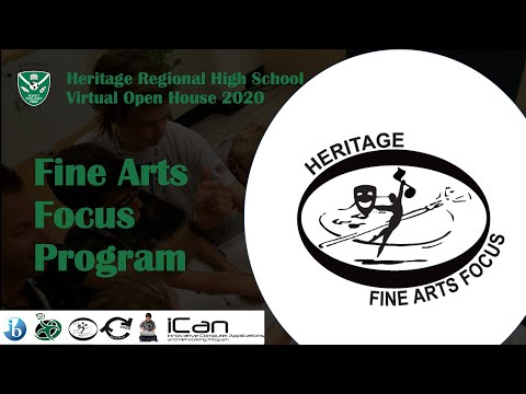 Heritage Regional High School - Fine Arts Focus Program