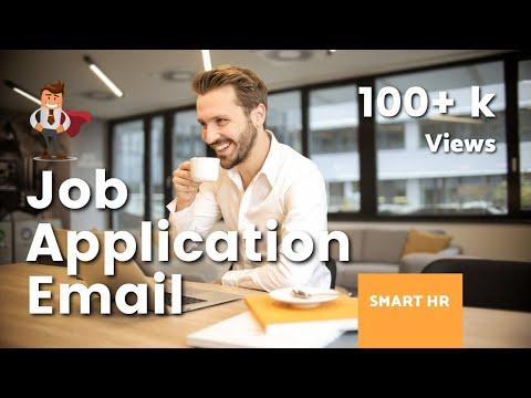 Job Application Email | Smart HR