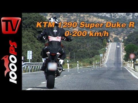 0-200 km/h | KTM 1290 Super Duke R-Beschleunigung