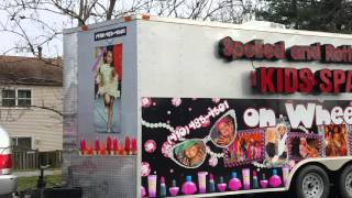 Spoiled Rotten Kids Spa  on Wheels