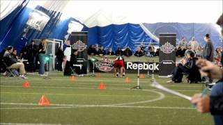 Kevin Regimbald 40yds   CFL E-Camp