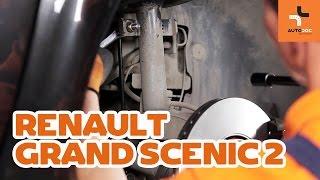 Как се сменя Жило За Ръчна Спирачка на RENAULT SCÉNIC II (JM0/1_) - видео ръководство