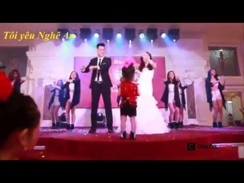 Cô dâu và chú rễ ở nghệ an nhảy vũ điệu cồng chiêng trong đám cưới