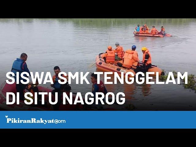 Siswa SMK Tewas Tenggelam di Situ Nagrog Subang Jawa Barat