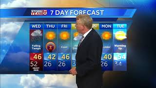 Video: Bands of rain move in for holiday travel