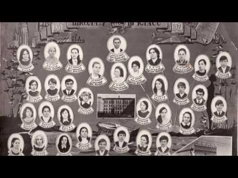 Выпускное фото 10-А класса школы №7 Комсомольска-на-Амуре