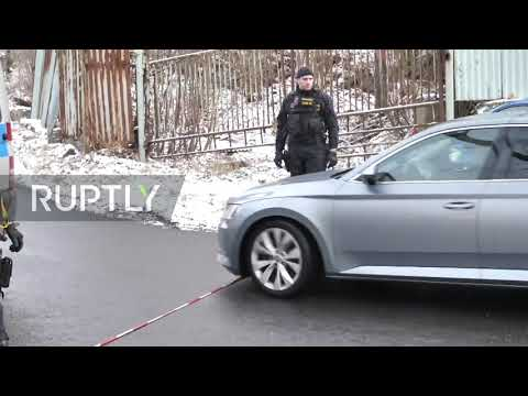 Czech Republic: PM Babis visits scene of deadly care home fire in Vejprty
