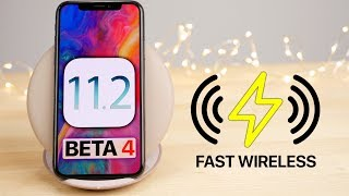 iOS 11.2 Beta 4! Fast Wireless Charging, Offline Siri & More!