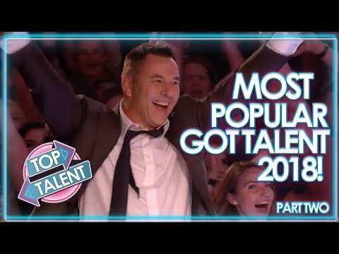 MOST VIEWED Got Talent Auditions 2018 – Part Two! | Top Talent