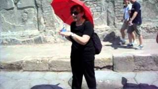 Pompeii, Italy - A tour of the Roman ruins.