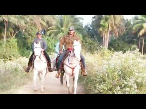 CHALLENGING STAR DARSHAN | HORSE RIDING WITH HIS SON