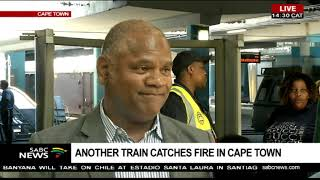UPDATE: Another train catches fire in Cape Town