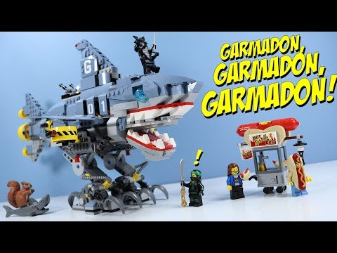LEGO Ninjago Movie Garmadon, Garmadon, GARMADON! Shark Mech Toys R Us Exclusive