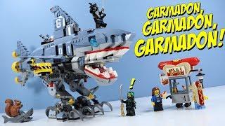 LEGO Ninjago Movie Garmadon, Garmadon, GARMADON! Shark Mech Toys R Us Exclusive