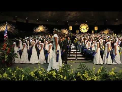 """Punahou Class of 2013 - Flash Mob / """"For Good"""" (Commencement 2013)"""