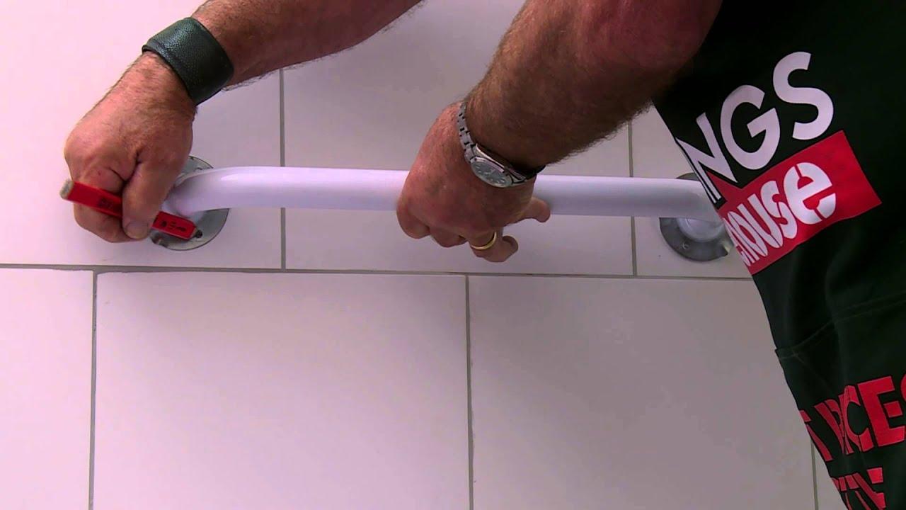 How To Install Bathroom Grab Rails, How To Fit Bathroom Grab Rails