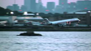 LaGuardia Airport - Arrivals on 31/Departures from 4 [Full HD]