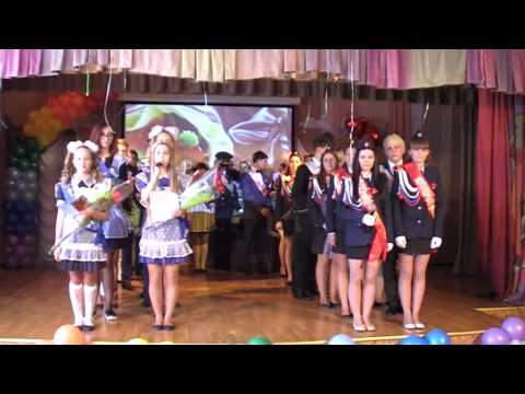 2015 05 23  Последний звонок Гимназия №1 г.Ноябрьска
