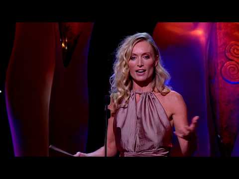 Victoria Smurfit 'The Bears' Winner Best Supporting Actress Film 2018
