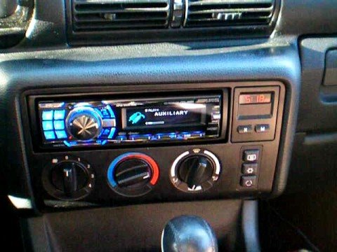 Bmw 318ti Sound System Youtube