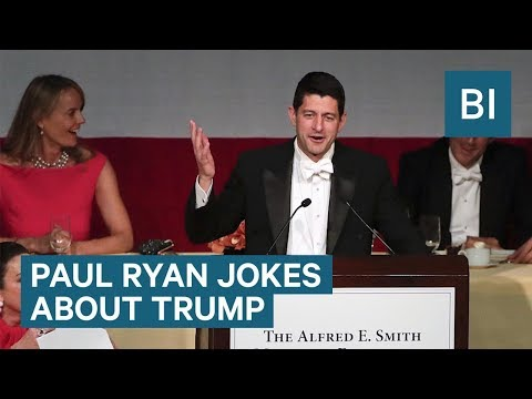 Paul Ryan roasts Donald Trump about his staff shakeups and Twitter habit