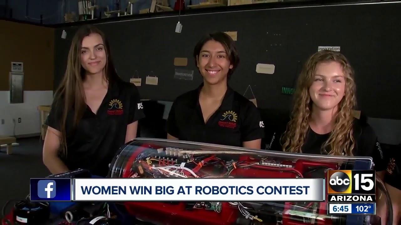 Arizona women place first in International Robotics Competition