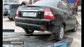 В Махачкале начали бороться с незаконной парковкой