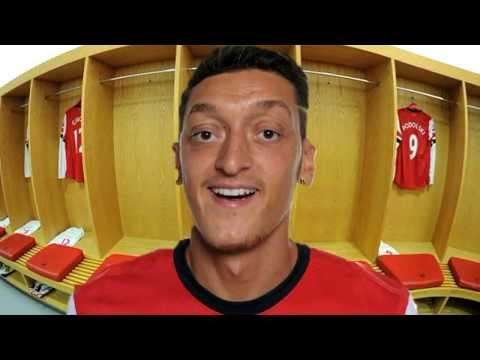 A Thank You Message From Mesut Ozil (Spoof)