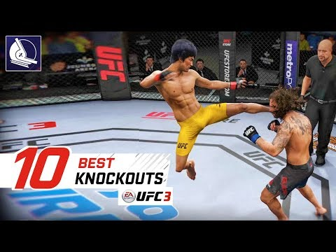 EA Sports UFC 3 - Top 10 Best Knockouts
