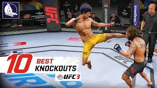 EA Sports UFC 3 - Top 10 Best Knockouts