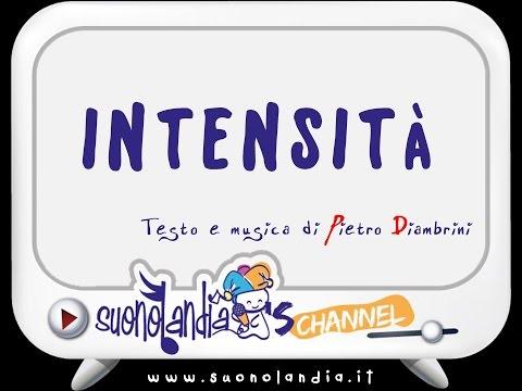INTENSITA' - Canzoni per bambini di Pietro Diambrini