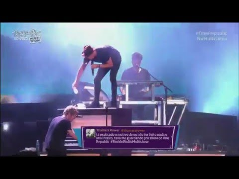 OneRepublic -  Seven Nation Army / Love Runs Out (Live at Rock in Rio 2015)