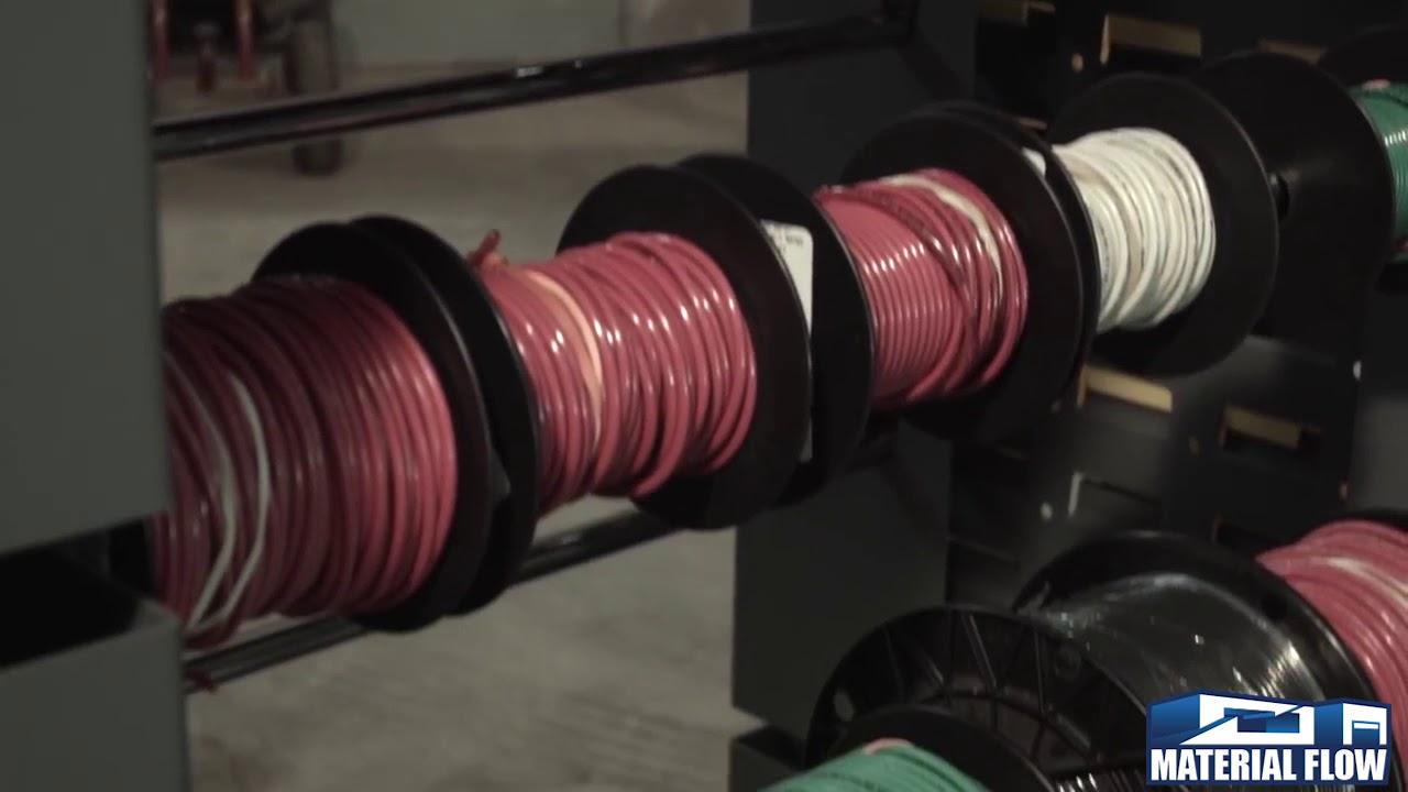 Durham Wire Spool Cart - YouTube