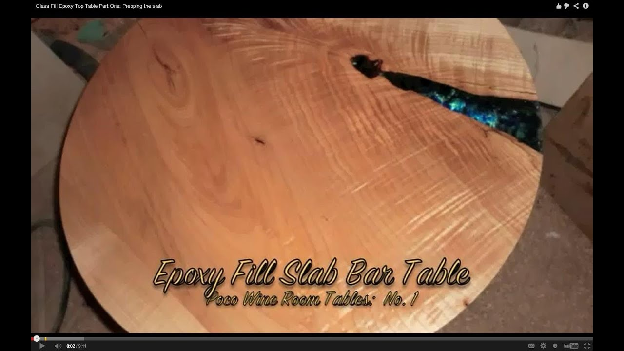 how to make a clear table top