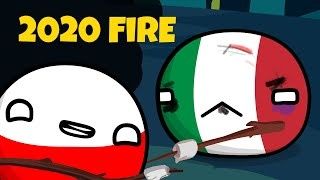 2020 Is Pure Fire - Countryball animation